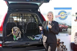 Christina Selter, pet safety expert with Bark Buckle UP