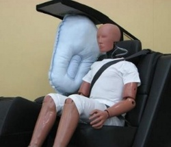Toyota Motor Corporation has announced what it says is the worlds first rear-seat centre airbag.