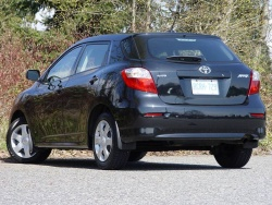 Test Drive: 2009 Toyota Matrix base, with four speed automatic transmission car test drives