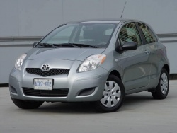 Test Drive: 2009 Toyota Yaris CE two door hatchback, five speed manual toyota car test drives