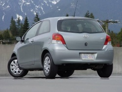 Test Drive: 2009 Toyota Yaris CE two door hatchback, five speed manual car test drives