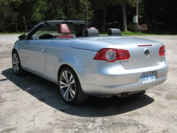 2009 Volkswagen Eos Silver-Red Edition