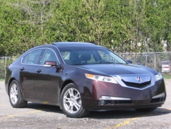 Test Drive: 2009 Acura TL  car test drives acura