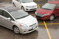 Toyota Prius, Ford Fusion Hybrid and Honda Insight