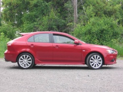 Test Drive: 2009 Mitsubishi Lancer Sportback Ralliart car test drives mitsubishi