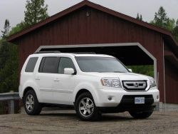 First Drive: 2009 Honda Pilot  first drives