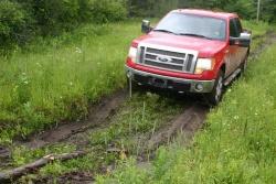 2009 Truck King Challenge: 2009 F 150 SuperCrew 4x4 Lariat trucks ford
