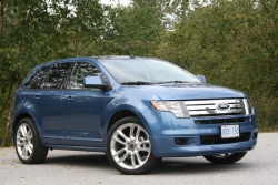 Test Drive: 2009 Ford Edge Sport car test drives ford