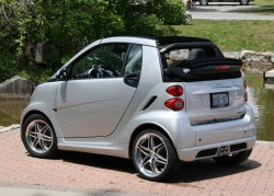 2009 Brabus Smart Fortwo cabriolet