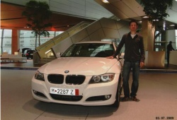 Brian Hendry and his 2009 BMW 3 Series