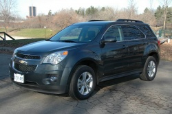Made in Canada: 2010 Chevrolet Equinox and 2010 Toyota RAV4, Part two auto articles made in canada long term auto tests toyota chevrolet car comparisons car test drives