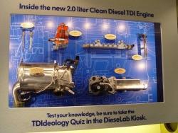 VW Clean Diesel TDI components