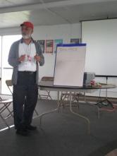 Instructor Derek Hanson