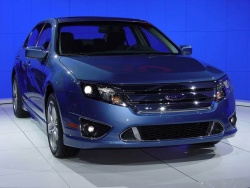 Ford unveils 2010 Fusion and Fusion Hybrid general news la auto show