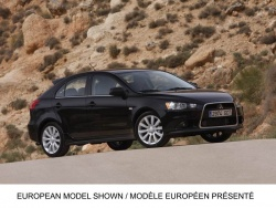 Mitsubishi shows new Lancer Sportback models toronto auto show