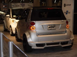 Smart introduces 2009 Fortwo BRABUS at LA Auto Show la auto show general news