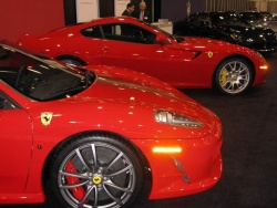 The Ferrari display