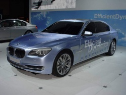 BMW debuts ActiveHybrid and advanced diesel in Los Angeles la auto show