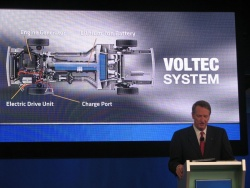 Voltec battery press conference