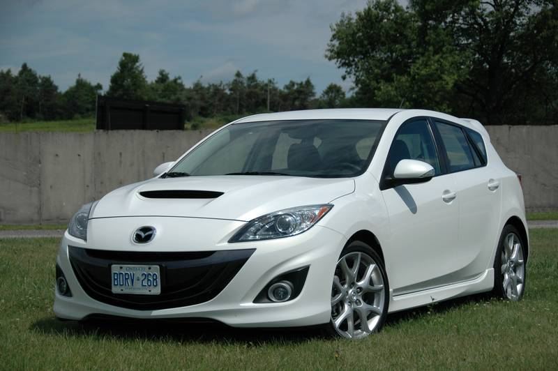 white Genpus Mazdaspeed