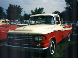 1958 Dodge Sweptside pickup
