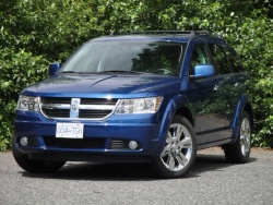 Test Drive: 2010 Dodge Journey R/T AWD car test drives dodge