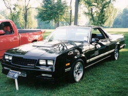 1986 Chevrolet El Camino; photo by Bill Vance