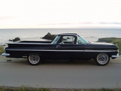 1959 Chevrolet El Camino; photo by Wikipedia user vegavairbob