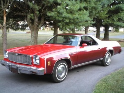 1975 Chevrolet El Camino; photo by Wikipedia user Rogerd1955