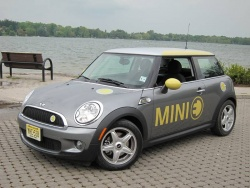 Mini E electric car