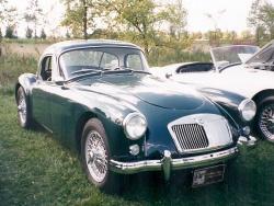 1958 MGA Coupe