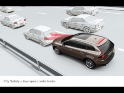 The XC60's City Safety system