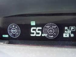 Toyota Touch Tracer in the 2010 Toyota Prius