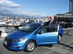 Robert Bienenfeld with the Honda Insight