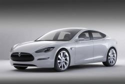 Tesla sedan concept