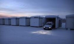 Volvo winter testing