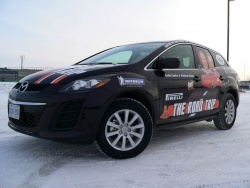 The winter beast for The Roadtrip, courtesy of Mazda Canada.