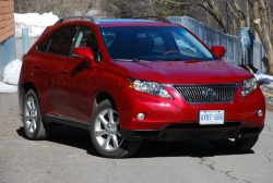 Made in Canada: 2010 Lexus RX 350 and Acura MDX, Part two acura