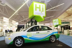 Hydrogen-powered Ford Focus