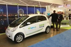 Mitsubishi iMiev plug-in electric car