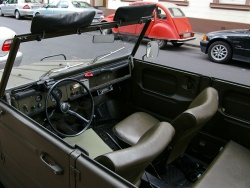 VW Kubelwagen interior