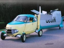 1956 Aerocar, wings folded