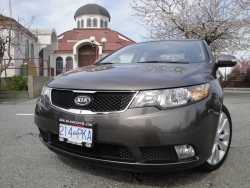 Test Drive: 2010 Kia Forte SX sedan car test drives kia