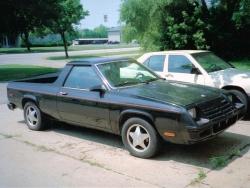 Motoring Memories: Dodge Rampage/Plymouth Scamp, 1982 1984 motoring memories classic cars