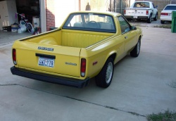 1982 Dodge Rampage; photo courtesy Old Car Junkie