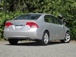 Test Drive: 2010 Honda Civic Sedan Sport car test drives honda
