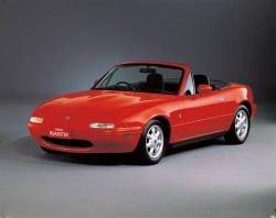 Mazda MX-5 Miata (Japanese model (Eunos) shown)