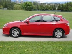 2010 Subaru Impreza 2.5i Sport hatchback