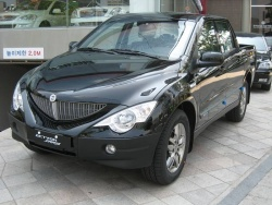 The SsangYong Actyon Sport