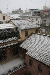 Rome's first snowfall since 1985
